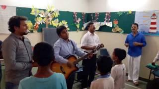 saari srishti ke maalik tumhi ho with lyrics by shekhinah worship band in chanchal park