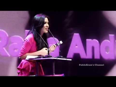Raisa: Most Wanted Female Yahoo OMG Awards 2013 - Fancam