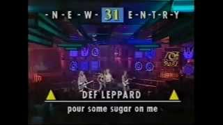 Def Leppard - Pour Some Sugar One Me (Top Of The Pops)