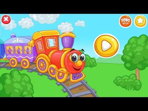 Железная дорога. Приключения поезда.