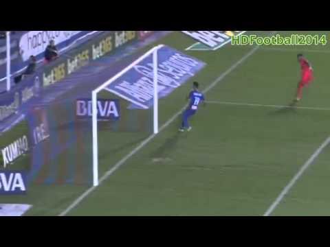 Neymar Goal ~ Levante vs FC Barcelona 0-1 ( La Liga ) 21/09/2014 HD