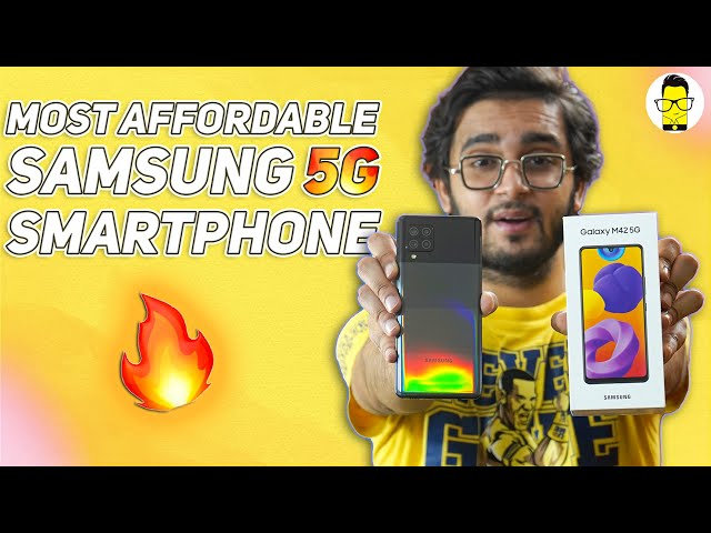 Samsung Galaxy M42 5G Unboxing and First Look 🔥 Snapdragon 750G, 5G, Rs. 21,999