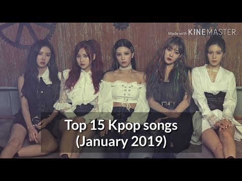 Top 15 Kpop Songs Of January 2019 (Girl Groups And Female Solo)