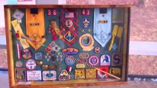 Boy Scouts Webelos Shadowbox (vid Response)