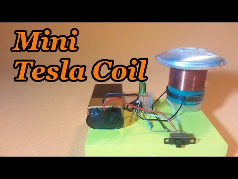 Mini Slayer Exciter Tesla Coil - How to Make it