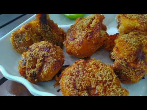 Rava Prawns Fry/Goan style Prawns Fry/Prawns Fry