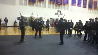 Open House Performance of Pershing Rifles