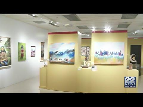 Native American art on display in Springfield