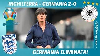 INGHILTERRA - GERMANIA 2-0: GERMANIA ELIMINATA, MI FOMENTO E MI SFOGO!