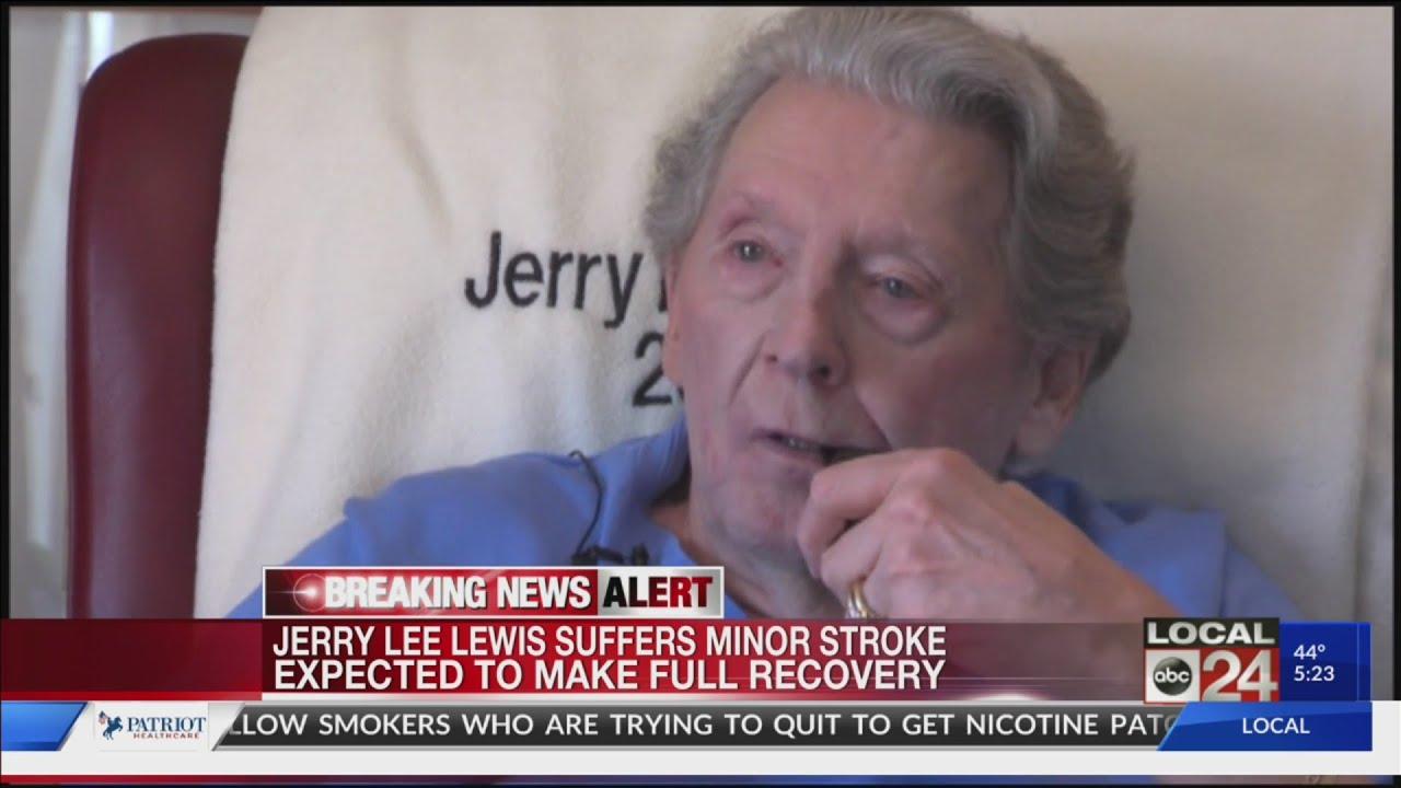 Jerry Lee Lewis Suffers 'Minor Stroke'