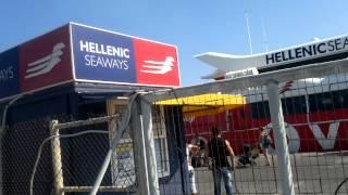 Из Ираклиона на острове Крит скоросным паромом Flying Cat 4 на Санторини(В конце июня 2012 года я путешествовала на Кикладский остров Парос через Санторини. Сняла на свой телефон..., 2012-07-03T19:54:58.000Z)