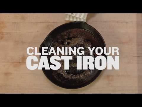 Cleaning Your Cast-Iron   Traeger Wood Fired Grills