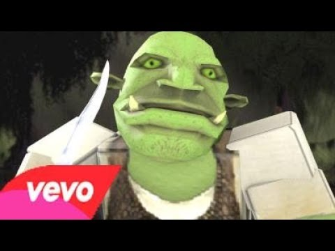 Shrek All Star But It's Sung by a Lunatic Accompanied by a Roblox Music Video ⭐⭐⭐
