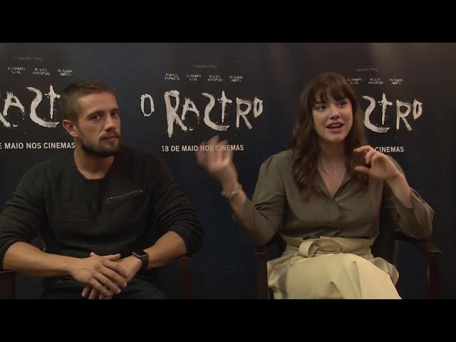 Entrevista|  Rafael Cardoso e Alice Wegmann falam sobre o terror O Rastro