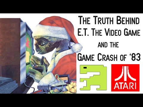 The Truth Behind E.T. & The Video Game Crash of 1983 - Yesterworld Games