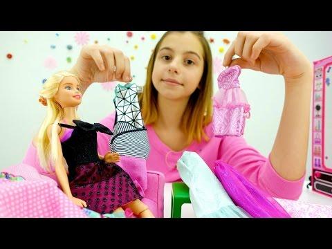 Барби. Игра одевалка для девочек. Какое платье для куклы барби выберет Вика Зелик?