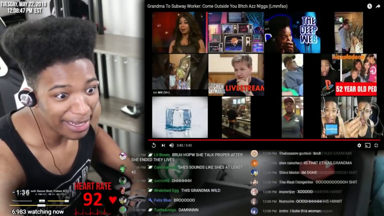 Etika Reacts to Minecraft Porn and the worst Subway customer ever