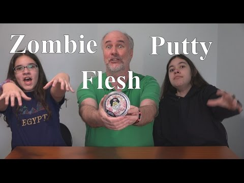 Crazy Aaron's Zombie Flesh Thinking Putty Review | RainyDayDreamers CC