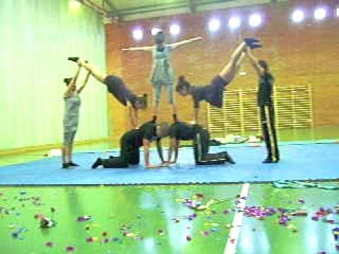 Baile De Acrosport 1bach E 2009 Youtube