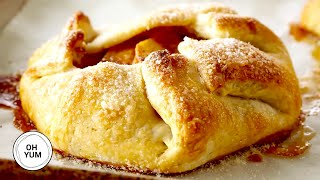 Apple Cinnamon Galettes  Oh Yum With Anna Olson