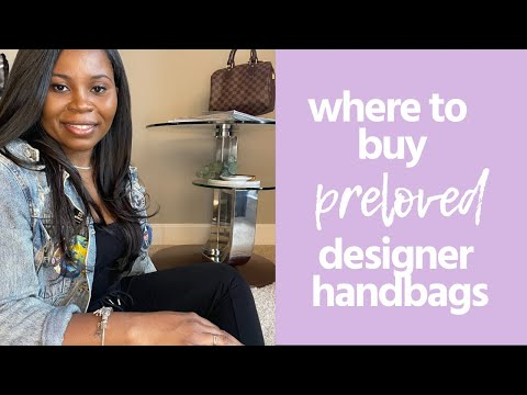 Where to buy Preloved designer handbags | authentic used designer handbags