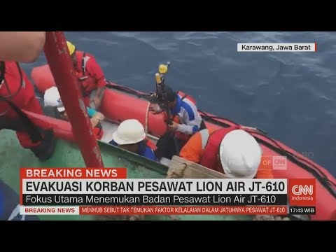 Proses Pencarian Badan Pesawat Lion Air JT-610 Mp3