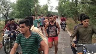 Indian Army Race || neemka Race || Faridabad Race 1750mtr || #rahulnagar #indianarmy