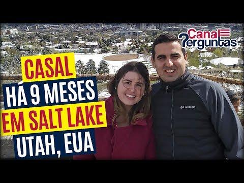 🔴[AO VIVO] Casal morando há 9 meses em Salt Lake City, Utah, EUA ✔