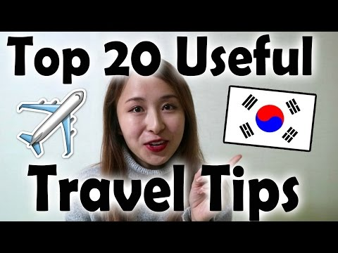 Travel Tips for Visiting Korea! | Apps, Haggling, and more...!