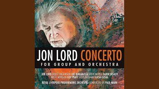 Concerto for Group and Orchestra: Movement Two. Andante