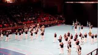The Royal Swedish Navy Cadet Band at Göteborgs Tattoo Saturday 2nd of March 2013