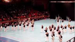 The Royal Swedish Navy Cadet Band at Göteborgs Tattoo Saturday 2nd of March 2013