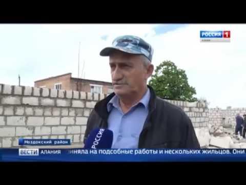 Ход строительных работ в Моздокском районе в рамках программы переселения из аварийного жилья