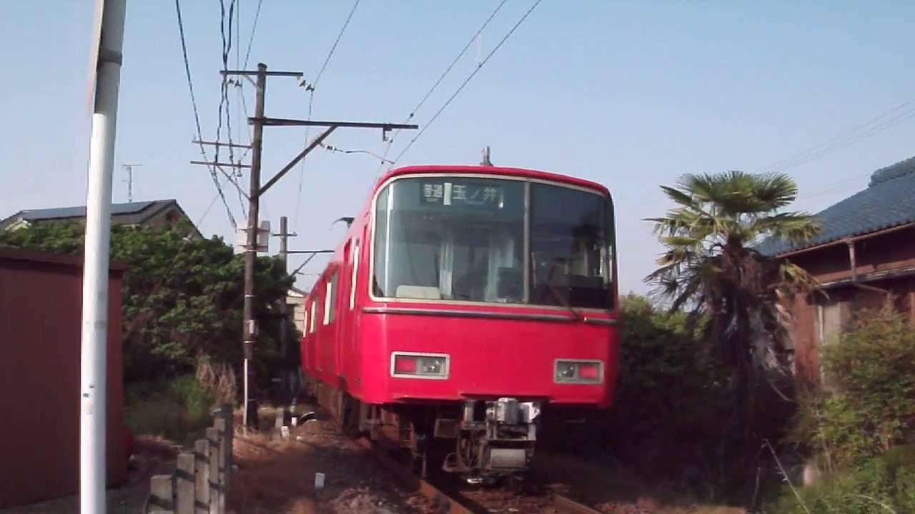 名鉄電車6800系 玉ノ井駅~奥町...