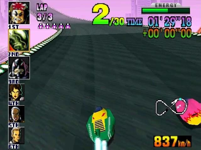 Jouez à F-Zero X sur Nintendo 64 grâce à nos bartops et consoles retrogaming