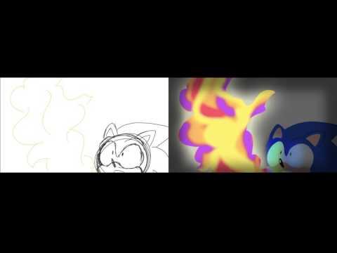 Sonic 25th Anniversary Comparison