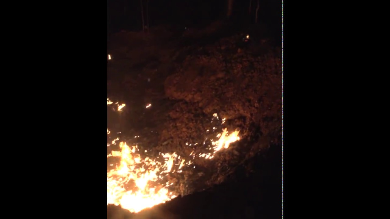 Метеорит в Домодедово (Барыбино), воронка в ночь 21.06.17