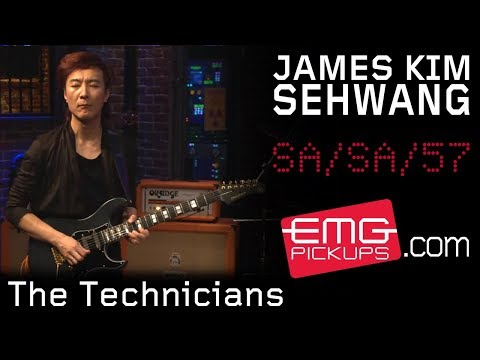 "James Kim SeHwang performs ""The Technicians"" with Stu Hamm on EMGtv"