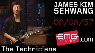 """James Kim SeHwang performs """"The Technicians"""" with Stu Hamm on EMGtv"""