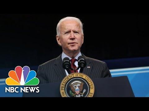 Biden Holds Memorial For 500,000 U.S. Covid Deaths | NBC News