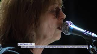 Plus de 2000 € récoltés lors du 2ème concert «guitare et solidarités» à Rambouillet
