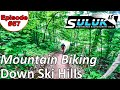 Riding my MTB Down Ski Hills @ Blue Mountain - On The Trail - Episode #57