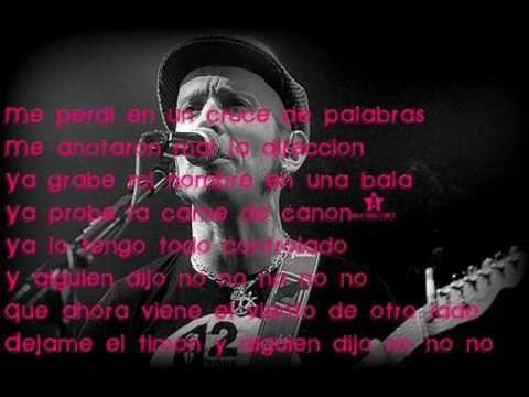 Fito Y Fitipaldis : Antes De Que Cuente 10 lyrics