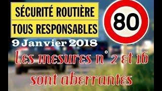 Sécurité Routière 2018 ⚠️18 mesures qui vont faire mal ⛔️ Adieu Liberté