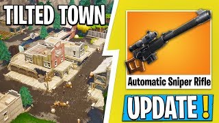 * NEW * Fortnite UPDATE | * TILTED TOWN * has APPEARED RIGHT NOW, the NEW PATCHES!