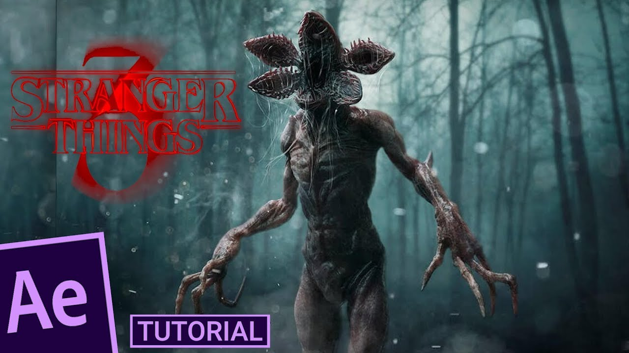 Demogorgon CGI in After Effects | Stranger Things Tutorial