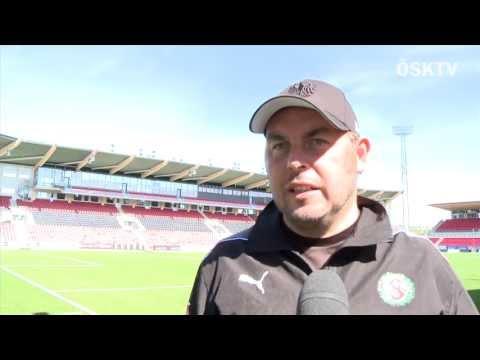 Alexander Axén inför Varberg