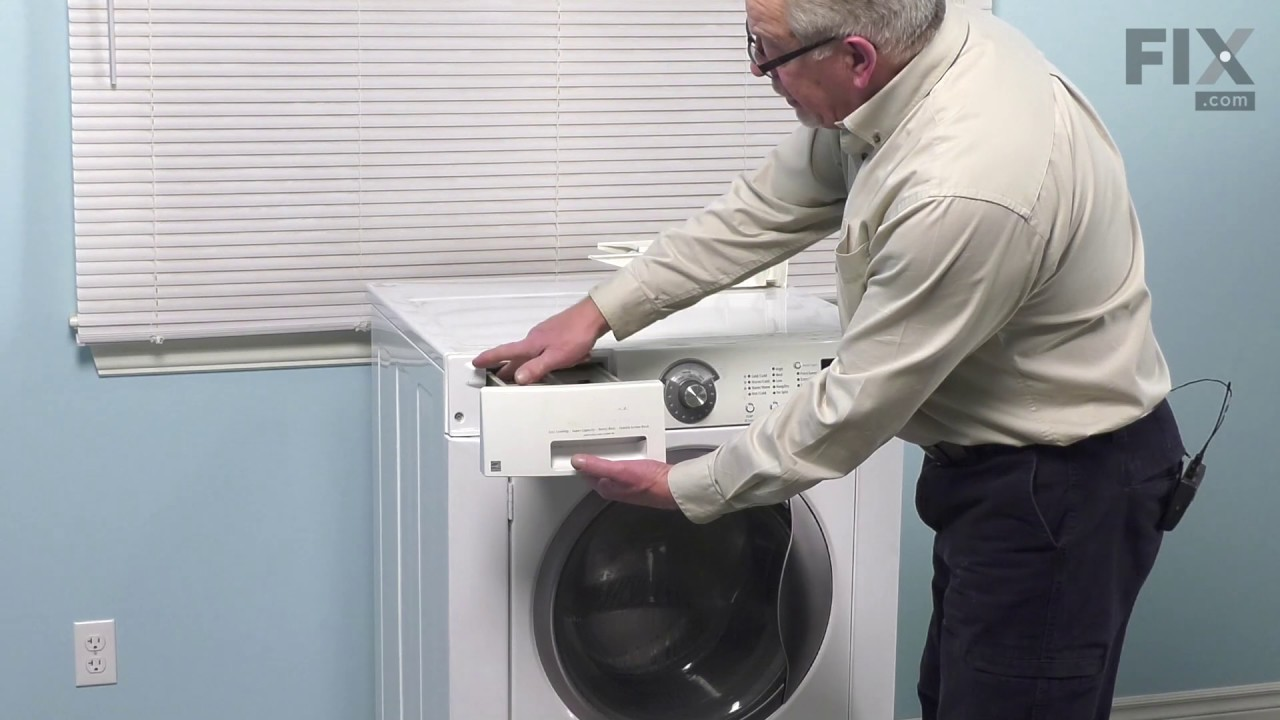 sparefixd Dispenser Drawer Latch Catch to Fit Indesit Washing Machine