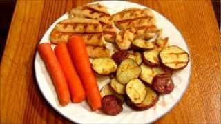 Foreman Grill Recipe: Chicken & Red Potatoes