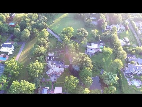 Aerial Drone View Of Kings Point New York | DJI Phantom